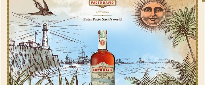 Pacto Navio voorbeeld storytelling websites